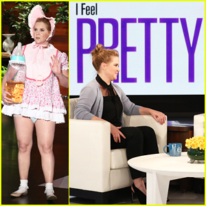 Amy Schumer Dresses As Baby To Debut Trailer For New Film 'I Feel Pretty' - Watch Here!