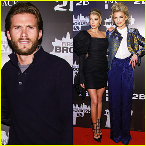AnnaLynne McCord & Charlotte Mckinney Get Support from Scott Eastwood at 'First We Take Brooklyn' Premiere!