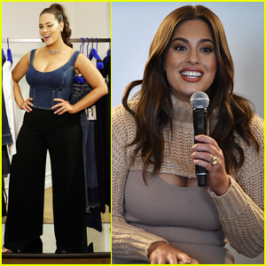 Ashley Graham Debuts New Denim Collection During NYFW!