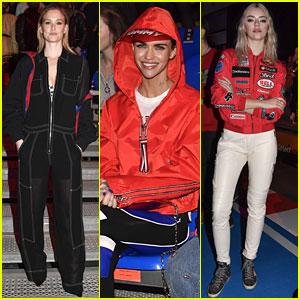 Bar Refaeli, Ruby Rose & Pyper America Smith Attend Tommy x Gigi Fashion Show