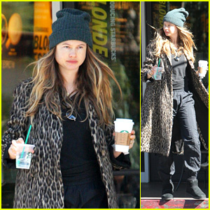 Behati Prinsloo Steps Out for the First Time Since Giving Birth to Second Child With Adam Levine!