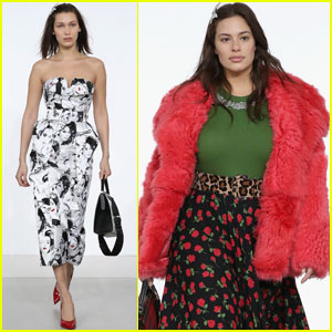 Bella Hadid & Ashley Graham Hit the Runway In 'Michael Kors' NYFW Show!