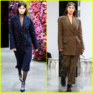 Bella Hadid Walks in First New York Fashion Week 2018 Show for Jason Wu
