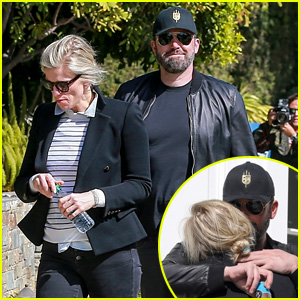 Ben Affleck & Lindsay Shookus Share PDA, House Hunt on Valentine's Day