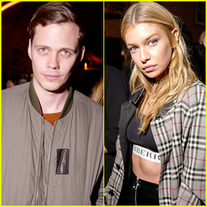 Bill Skarsgard & Stella Maxwell Stop By The Last Magazine's NYFW Party