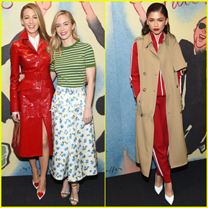 Blake Lively, Emily Blunt & Zendaya Buddy Up at Michael Kors Collection NYFW Runway Show!