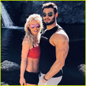 Britney Spears & Boyfriend Sam Asghari Celebrate One Year Anniversary!