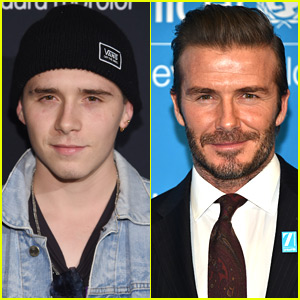 Brooklyn Beckham Shows Off New Tattoo in Honor of Dad David!