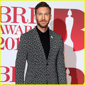 Calvin Harris Suits Up for Brit Awards 2018!