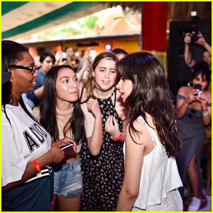 Camila Cabello Celebrates Her Solo Album With a Cuban-Themed 'Casa Camila' Spotify Fan Party in Miami!