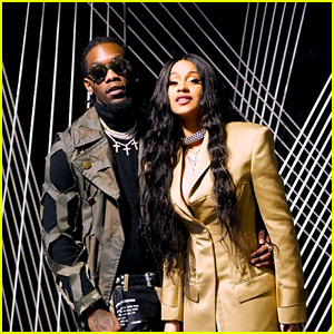Cardi B & Offset Make a Fashionable Couple at Prabal Gurung Show During NYFW 2018!