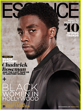 Chadwick Boseman & 'Black Panther' Cover Essence's New Issue