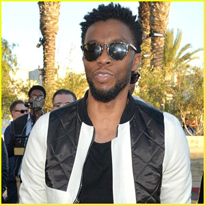 Chadwick Boseman Makes Surprise Appearance at 'Black Panther' Screening!
