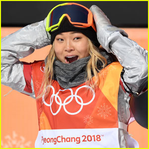 Chloe Kim Wins Gold For U.S. In Women's Halfpipe Snowboarding!