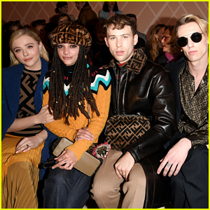Chloe Moretz Joins Friends at Fendi Fashion Show in Milan!