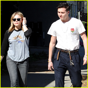 Chloe Moretz & Brooklyn Beckham Go Casual for Lunch Date