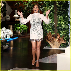Chrissy Teigen Reveals When Her Second Child With John Legend Is Due - Watch!