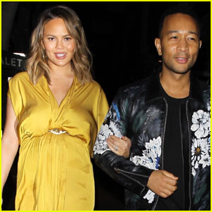 Chrissy Teigen & John Legend Couple Up For Cute Date Night