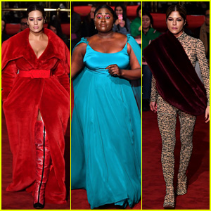 Ashley Graham, Danielle Brooks, & Selma Blair Walk Runway at Christian Siriano Show!