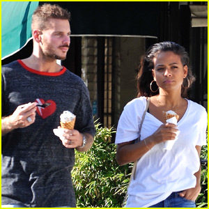 Christina Milian & Boyfriend Matt Pokora Grab Ice Cream in Studio City!