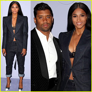 Ciara & Russell Wilson Couple Up for Tom Ford NYFW Show!