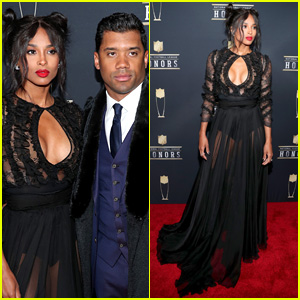 Ciara & Russell Wilson Make One Hot Couple at NFL Honors 2018