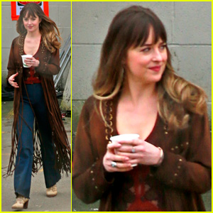 Dakota Johnson Gets to Work on 'Bad Times at the El Royale'