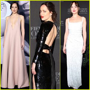 Dakota Johnson's Best Red Carpet Moments from 'Fifty Shades' Press Tours!