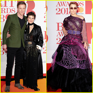Damian Lewis & Wife Helen McCrory Couple Up at Brit Awards 2018!