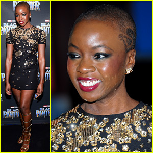 Black Panther's Danai Gurira Represents the Movie in Toronto!