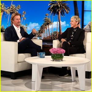 David Spade Confused Ellen DeGeneres for Justin Bieber at Her Birthday Party - Watch!