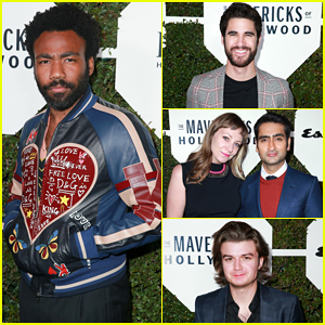 Donald Glover, Darren Criss & Kumail Nanjiani Step Out in Style for Esquire's Maverick's Of Hollywood Party!