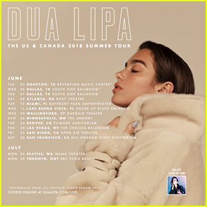 Dua Lipa Announces More Headlining Self-Titled Tour Dates & Performs 'IDGAF' at BBC Live Lounge!
