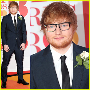 Ed Sheeran Fuels Marriage Speculation at Brit Awards 2018