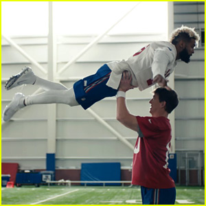 Eli Manning & Odell Beckham Jr.'s 'Dirty Dancing' Super Bowl Commercial 2018 - Watch Now!