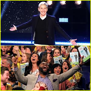 Ellen DeGeneres Gives $1 Million to Her Audience to Split!
