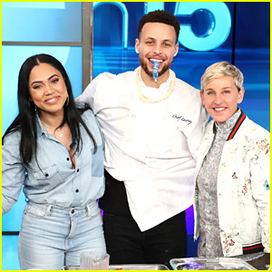 Ellen DeGeneres Tries to Figure Out Stephen & Ayesha Curry's Third Baby's Gender - Watch!
