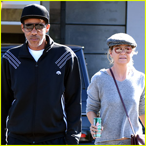 Ellen Pompeo & Husband Chris Ivery Couple Up for Lunch Date!