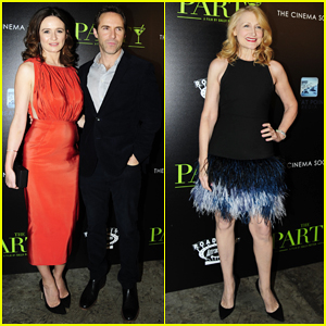 Emily Mortimer & Hubby Alessandro Nivola Couple Up at 'The Party' NYC Screening!