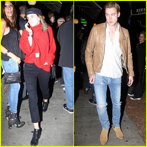 Emma Watson & Chord Overstreet Attend Nathaniel Rateliff & The Night Sweats Concert in LA!