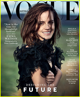 Emma Watson Covers 'Vogue Australia,' Guest Edits March 2018 Issue!