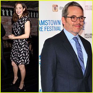 Emmy Rossum & Matthew Broderick Team Up for WTF Gala 2018