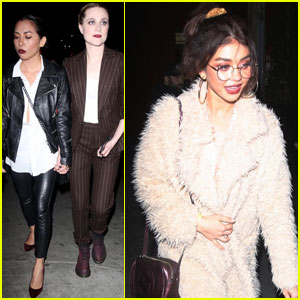 Evan Rachel Wood Hosts Anti-Valentines Concert With Sarah Hyland & Other Friends!