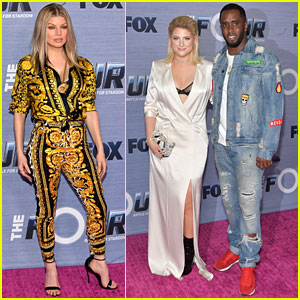 Fergie, Meghan Trainor, & Diddy Team Up for 'The Four' Season Finale Viewing Party
