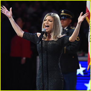 Fergie Performs the National Anthem at the NBA All-Star Game 2018!