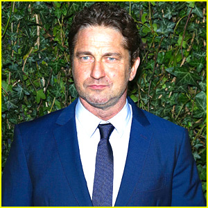 Gerard Butler Suits Up for Chanel's Pre-BAFTA Party