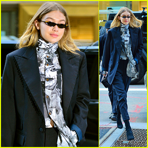 Gigi Hadid Looks Chic While Stepping Out for Fittings in NYC!