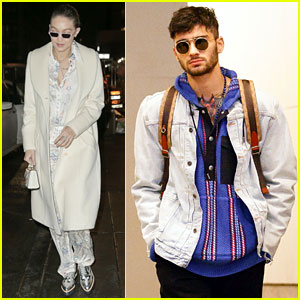 Gigi Hadid & Zayn Malik Both Look Stylish in New York City