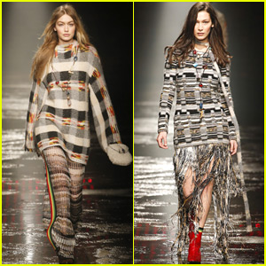 Gigi Hadid Opens Missoni Show During Milan Fashion Week!