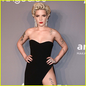 Halsey Fires Back at Reports Over Wardrobe Malfunction